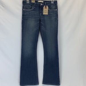 ❤️👖NWT LEVI'S 715 Bootcut   Faded Look👖❤️